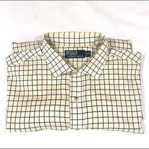 Polo Ralph Lauren Button Front Casual Shirt Sz XL